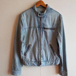 Vintage 90's Bluenotes Light Wash Denim Jacket